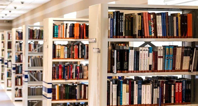 libreria con libros de diferentes temáticas